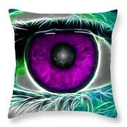 Eyeconic Throw Pillow