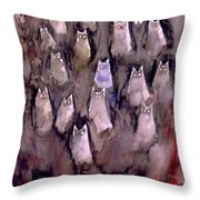 Eyes Are Wathching -2 Throw Pillow
