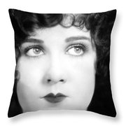 Eyes: Mary Brian Throw Pillow