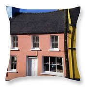 Eyries Village, West Cork, Ireland Throw Pillow by The Irish Image Collection