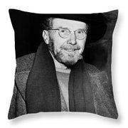 Ezra Pound (1885-1972) Throw Pillow