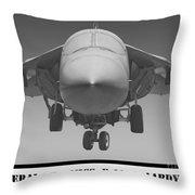 F-111e Aardvark Throw Pillow