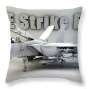 F-15e Strike Eagle Throw Pillow