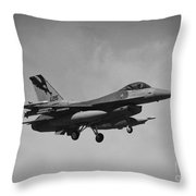 F-16c Throw Pillow