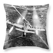 F-84 Thunderjet, 1949 Throw Pillow
