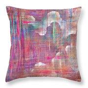 Fabric Of A Dream Throw Pillow