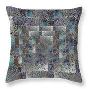 Facade 12 Throw Pillow