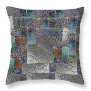 Facade 16 Throw Pillow