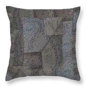 Facade 3 Throw Pillow