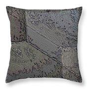 Facade 7 Throw Pillow