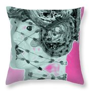 Faced With Doubt Throw Pillow