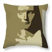 Faces Of Napoleon Throw Pillow