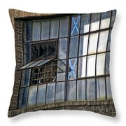 Factory Air In New Orleans Throw Pillow