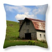 Faded Generations Throw Pillow