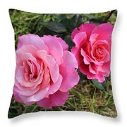 Faded Love Square Throw Pillow