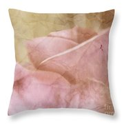 Faded Past Throw Pillow