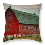 Fading Throw Pillow