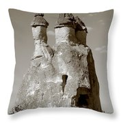 Fairy Chimney In Goreme Throw Pillow