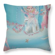 Fairy Godmother Convention Throw Pillow