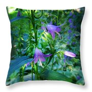 Fairy Hats Throw Pillow