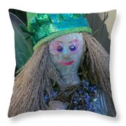 Fairy Sod Mother Throw Pillow
