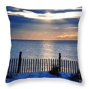 Hope Is On The Horizon Throw Pillow