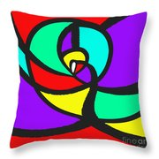 Falcial Throw Pillow