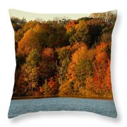 Fall Abounds Throw Pillow