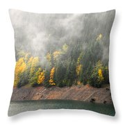 Fall At The Lake 2 Throw Pillow