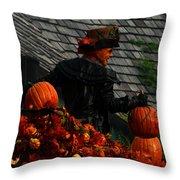 Fall Celebration Throw Pillow