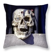 Fall  Halloween On Tillson Street Throw Pillow