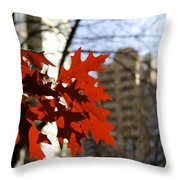 Fall In The City 2 Throw Pillow