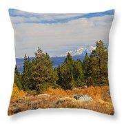 Fall In The Sierra Throw Pillow