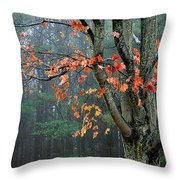 Fall In Your Face Throw Pillow