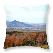 Fall Landscape Throw Pillow