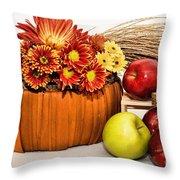 Fall Pleasures Throw Pillow