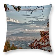 Fall View From Roanoke Mountain Throw Pillow