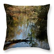 Fallen Beauty Throw Pillow