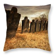 Fallen Comrades Of The Civil War Throw Pillow