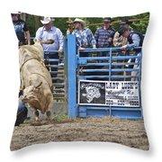 Fallen Cowboy Throw Pillow