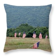 Fallen Soliders Throw Pillow