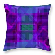 Falling Magenta 2 Throw Pillow