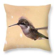 Falling On My Head Throw Pillow