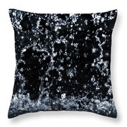 Falling Water Throw Pillow by Elena Elisseeva