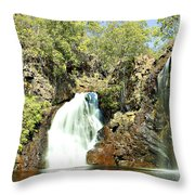 Falling Waters V2 Throw Pillow
