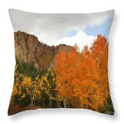 Fall's Glory Throw Pillow