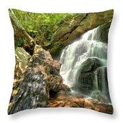 Falls Through The Rocks Throw Pillow