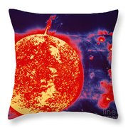 False-color Skylab Image Of A Solar Throw Pillow by NASA / Science Source