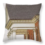 Fancy Arcitecture Throw Pillow