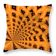 Fancy Coral Throw Pillow